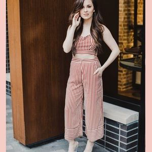 Kittenish Two Piece Outfit